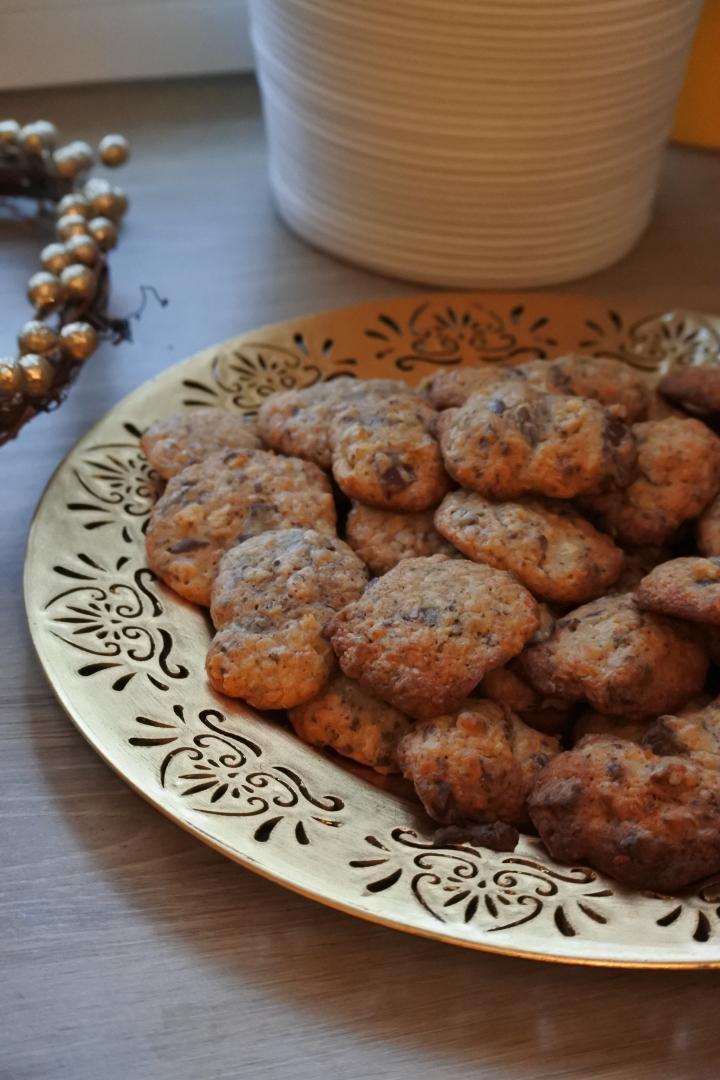Noël 2017 : Les cookies aux floconsd'avoine