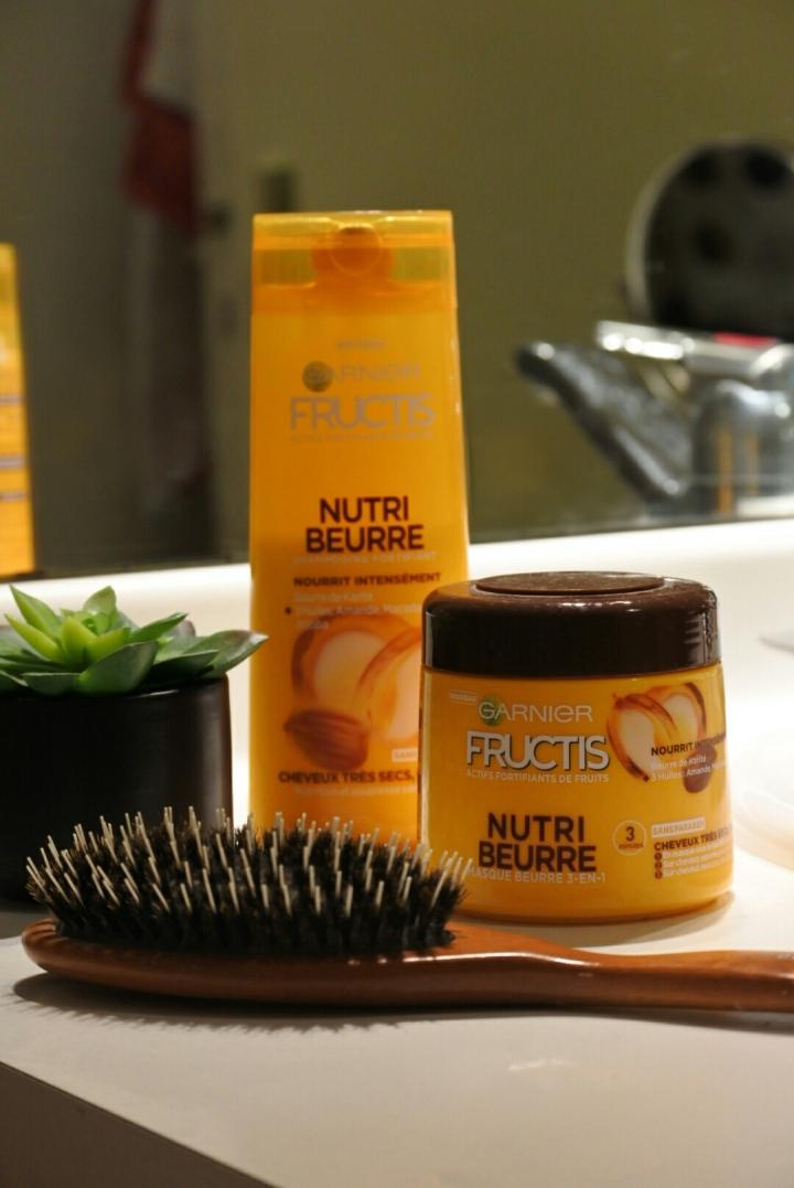 Test de la gamme Nutri-Beurre –Fructis